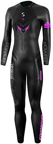 Synergy Triathlon Wetsuit – Women's Synergy Endorphin Full Sleeve Smoothskin Neoprene for Open Water Swimming
