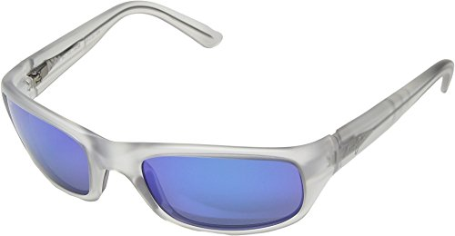 Maui Jim Unisex Stingray Crystal Matte/Blue Hawaii One - Jim Stingray Maui