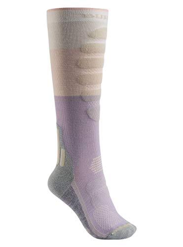 Burton Women's Performance + Lightweight Socks, Canvas Block, Small/Medium