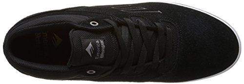EmericaWestgate Mid Vulc - Zapatillas de Skateboarding hombre negro - Noir (Black/White/976)