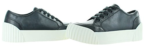 Marc By Marc Jacobs Womens Riley Lage Top Lace Up Fashion Sneaker Zwart