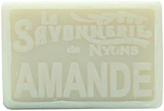 Jab/ón Rectangular 100 Gramos, Multicolor Talla /única La Savonnerie de Nyons Almond