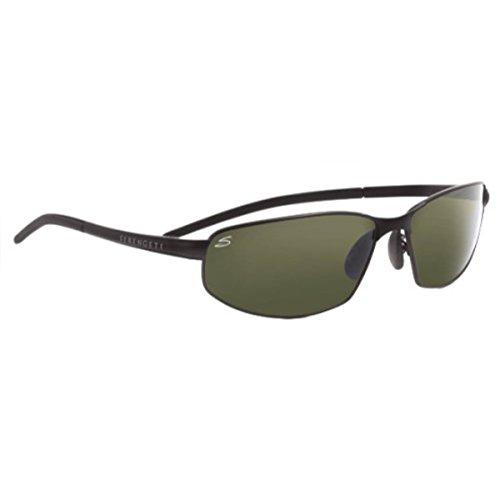 Serengeti Black Lens (Serengeti Granada Sunglasses, Satin Black with Polarized Lens)