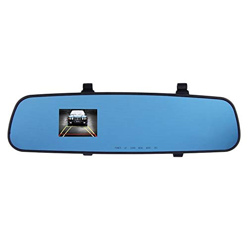 Qirui 1280 * 720HD 2.4' Car DVR Mirror Recorder Camera Video Dash Cam Rear View