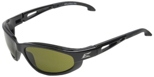 Edge Eyewear SW11-IR3 Dakura Safety Glasses, Black with Light Welding IR 3.0 - Sunglasses Welding