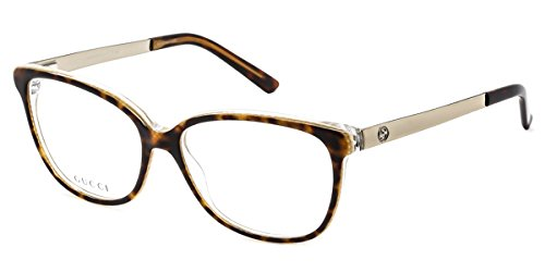 Gucci GG3701 Eyeglasses-04WJ Havana Embossed -54mm (Gucci Modell-nummer)
