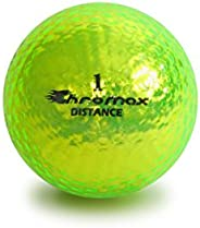 Chromax High Visibility Distance Golf Balls 6-Pack