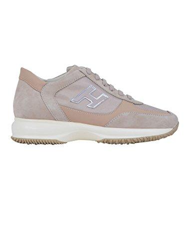Hogan Sneakers Donna HXW00N03242F19M024 Camoscio Marrone