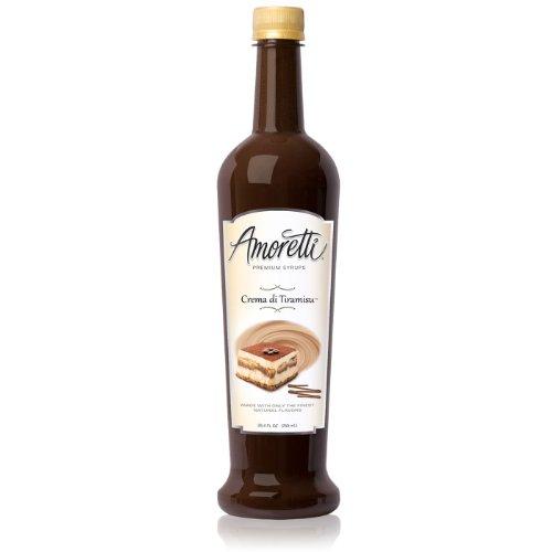 Amoretti Premium Syrup, Crema Di Tiramisu, 25.4 Ounce (Dessert Tiramisu)