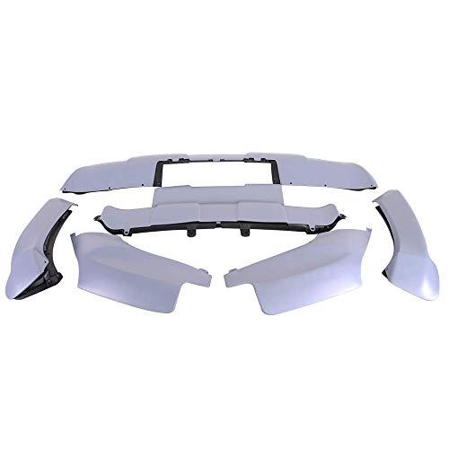 Fits 07-10 X5 E70 Propylene Bumper Body Lip Kit Aerodynamic Front /& Rear 13Pcs