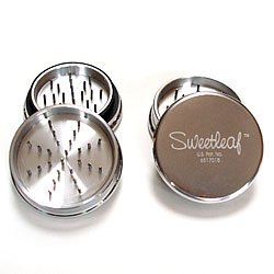 Sweetleaf 2 Part Aluminum Pocket Herb Grinder 2