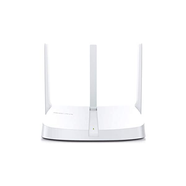 Mercusys MW305R 300Mbps Wireless Wi-Fi WiFi Router | Three 5dBi Antennas | Parental Control | MediaTek Chipset 2021 July 300Mbps Wi-Fi Speed —— 300Mbps wireless speed is ideal for HD streaming and large file downloads Antennas —— Three 5dBi antennas greatly increase wireless signal strength, size and stability Easy Setup —— Intuitive webpage guides you through the setup process in minutes