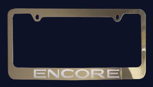 Buick Encore License Plate Frame (Zinc Metal)