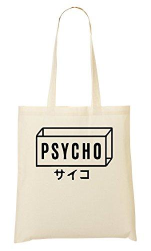 ShutUp Mentally Psycho Japanese Box Bolso De Mano Bolsa De La Compra