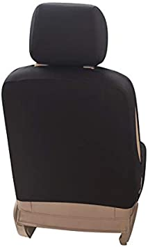 Upgrade4cars Front Car Seat Cover for the Passenger Seat Single Carseat Protector in Black Universal Automotive Accessories Gadget