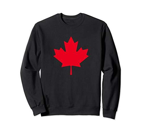 - Maple Leaf Canada Flag Proud Canadian Gift Sweatshirt
