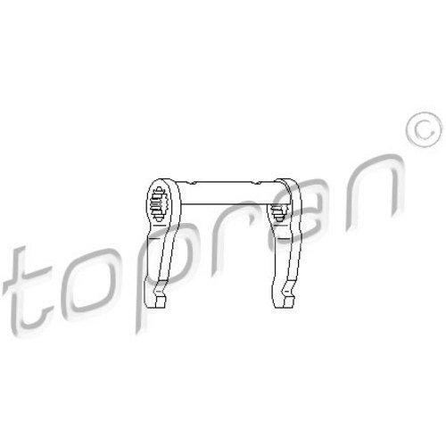 Ausrückgabel Kupplung für Kupplung TOPRAN 107 293