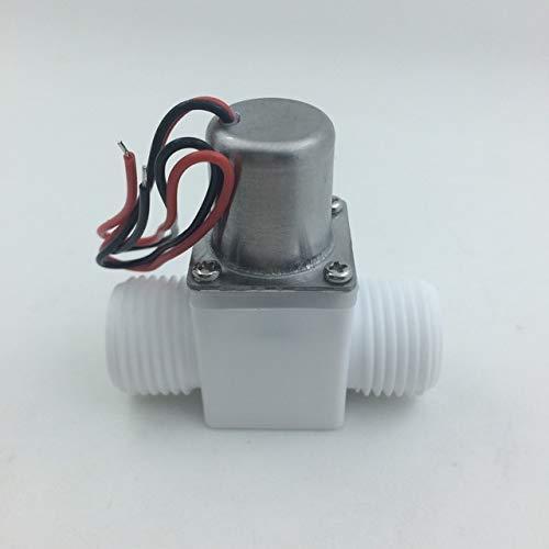 Vorsteuermagnetventil DC3.6-6.5V 0.02-1.0MPa DN15 Elektromagnetisches Impulsventil f/ür Induktionsb/äder