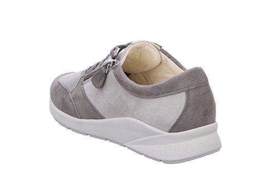 Dietz À Femme De 7014379139 Christian Lacets Pour Ville Chaussures Gris q4APxd