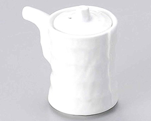 Tuzumi 2.3inch Set of 5 Soy Sauce Dispensers White porcelain Made in Japan by Watou.asia