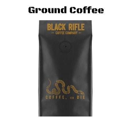 Black Rifle Coffee Company Ground Coffee 2 - 12oz Bags (Coffee Or Die Ground)