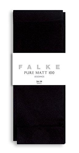 FALKE Pure Matt Legging Femme Opaque 100 Deniers Noir Gris Plus De Couleurs Chaud Épais Taille Haute Pour L'Hiver Sans…