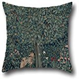 Pillowcase Of Oil Painting John Henry Dearle For Morris Co. - Tapestry- Greenery 20 X 20 Inches / 50 By 50 Cm,best Fit For Dance Room,indoor,home Office,pub,bf,birthday Twice Sides ()