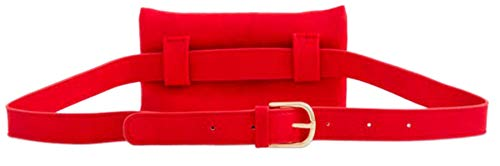 Girly Bum HandBags Zipper Bag HandBags Red Front Girly Uw7Px66q