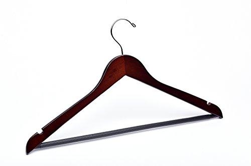 Adult Walnut Wooden Hanger Heirloom