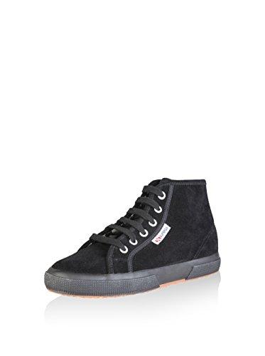 Superga 2095-Sueu, Zapatillas de Estar por Casa para Mujer Full Black