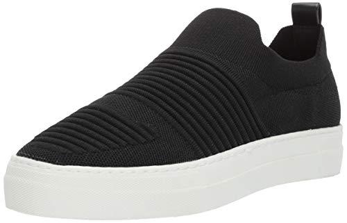 Madden Girl Women's BRYTNEY Sneaker, Black Knit, 7 M US