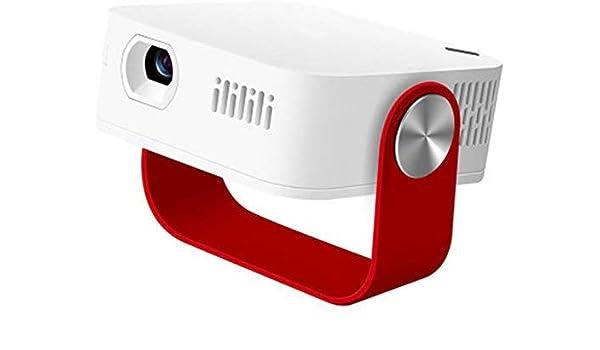 Mini proyector LED portátil WiFi y Bluetooth HD 1080P Batería ...
