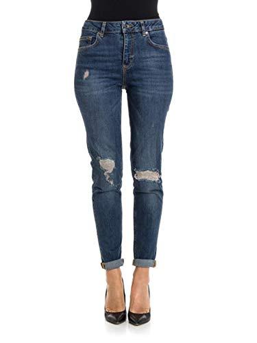 U67023 Liu Blue jo Jeans mom BwqagtBr