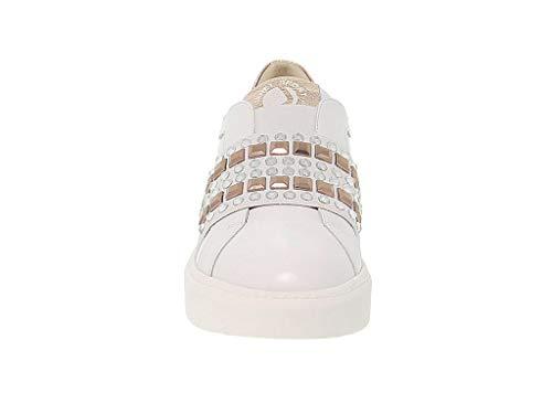 Jspo39708b Mujer Zapatillas Janet Cuero Sport Blanco 5XwqxEAq