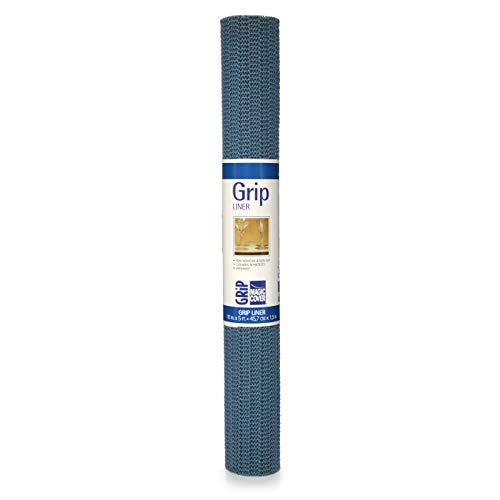 Magic Cover Grip Non-Adhesive Shelf Liner, 18-Inch by 5-Feet, Country ()