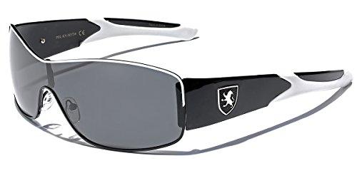 Premium Polarized Sport Fishing Golf Driving Sunglasses - Black & White