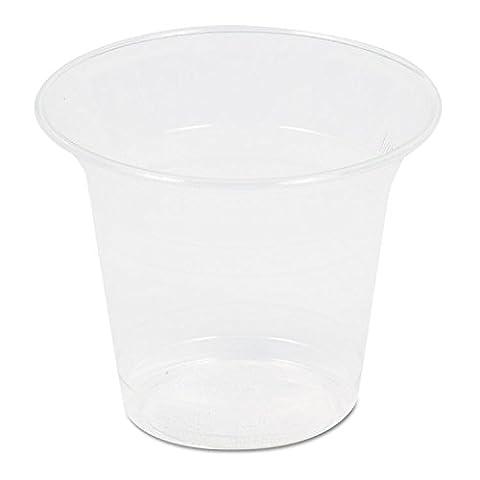 SAVANNAH SUPPLIES, INC. Corn Plastic Cup, 10oz, Clear, 50/Pack (RP20) - 10 Ounce Styrofoam Cups