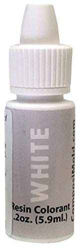 White Epoxy Pigment (Colorant, Dye, Tint) 6cc (0.2 oz.)
