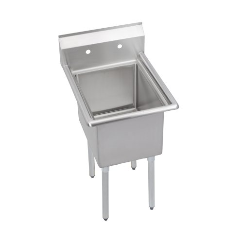 Elkay 1C18X18-0X Standard Scullery Sink, 1-Compartment 12