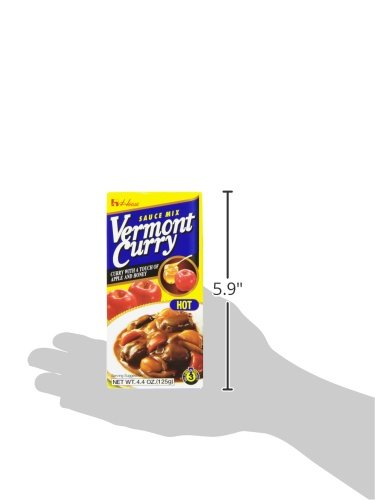 House Foods Vermont Curry, Hot, 4.0-Ounce Boxes (Pack of 10) by House Foods (Image #5)
