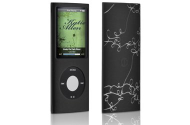 - Jam Jacket Grafik Case, with screen protector, for iPod nano 4G, Laser Vine (Black/Clear), Model# DLA64023/17, by Philips Consumer Electronics/DLO (Digital Lifestyle Outfitters)