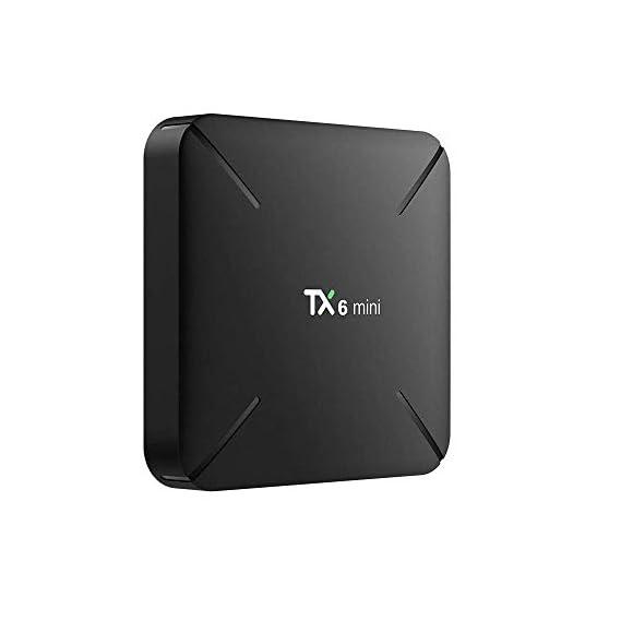 Tx6 Mini Smart TV Box [2020 Latest Version] Android 9- 2GB 16GB -1 Year Warranty, 4K, Android TV Box, WiFi, LAN, USB3.0