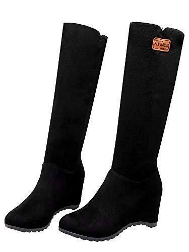 Classic Black Black Women's Classic Boot AIYOUMEI Boot AIYOUMEI Classic Boot Women's Women's Black AIYOUMEI wSAxwPBaq