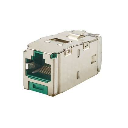Panduit CJS6X88TGGRY Mini-com TX6 10 Gig Shielded Jack Module