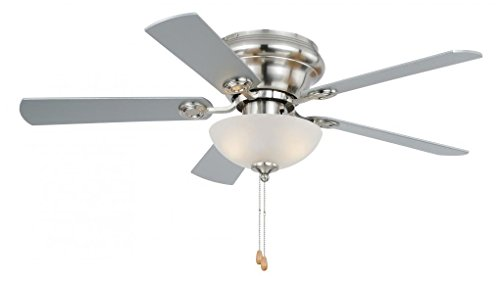 Vaxcel F0023 Expo Flush Mount Ceiling Fan, 42