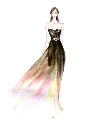 Victory Bridal -  Vestito  - linea ad a - Donna Fuchsia-3 40