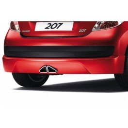 Peugeot - Falda Arriere para Kit carrocería Peugeot 207: Amazon.es: Coche y moto