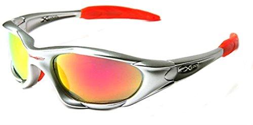 X Loop Orange High Profile Runners Cycling Sunglasses -