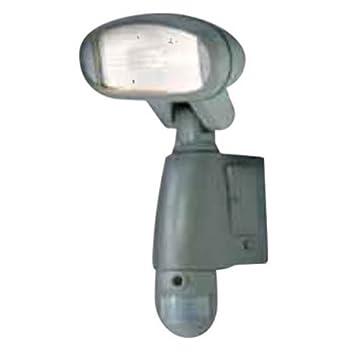 Camtronics PIR Buho 10 Lámpara de iluminación Exterior con luz halógena de 120 W, con
