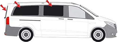 Solarplexius Car Sun Shade Tint for Mercedes VITO-III (W447) Extra Long L3 Art. 57696-5 Sunplex AB